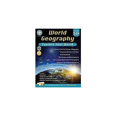 Carson-Dellosa Publishing World Geography, Grades 5 8+ Workbook, Grade 5 - Grade 10 [eBook]