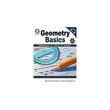 Carson-Dellosa Publishing Geometry Basics, Grades 5 - 8 Workbook By Cameron, Schyrlet, Grade 5 - Grade 8 [eBook]