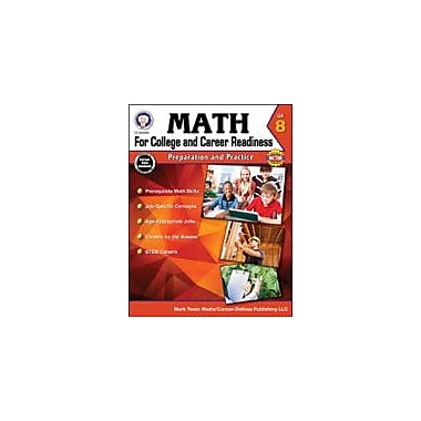 Carson-Dellosa Publishing Math For College And Career Readiness, Grade 8 Workbook By Henderson, Christine, Grade 8 [eBook]