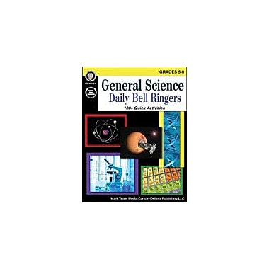 Carson-Dellosa Publishing General Science, Grades 5 - 8 Workbook By Cameron, Schyrlet, Grade 5 - Grade 8 [eBook]