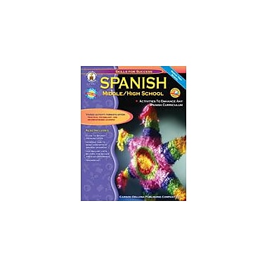 Carson-Dellosa Publishing Spanish, Grades 6-12 Workbook By Downs, Cynthia, Grade 6 - Grade 12 [eBook]