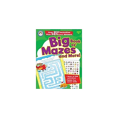 Carson-Dellosa Publishing Big Book Of Mazes And More! Workbook, Preschool - Grade 1 [eBook]
