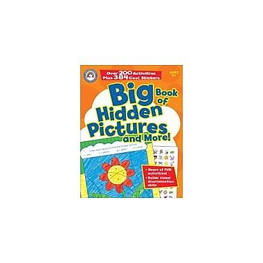 Carson-Dellosa Publishing Big Book Of Hidden Pictures And More! Workbook, Preschool - Grade 1 [eBook]