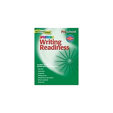 Carson-Dellosa Publishing Spectrum Writing Readiness, Preschool Workbook, Preschool [eBook]