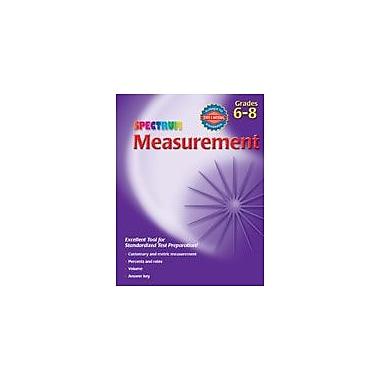 Carson-Dellosa Publishing Spectrum Measurement, Grades 6-8 Workbook, Grade 6 - Grade 8 [eBook]