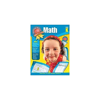 Carson-Dellosa Publishing Master Skills Math, Grade K Workbook, Kindergarten [eBook]