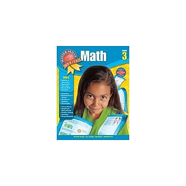 Carson-Dellosa Publishing Master Skills Math, Grade 3 Workbook [eBook]