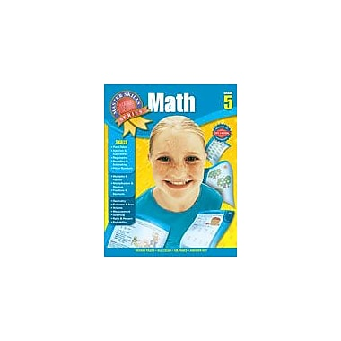 Carson-Dellosa Publishing Master Skills Math, Grade 5 Workbook [eBook]