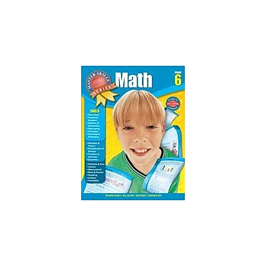 Carson-Dellosa Publishing Math Workbook, Grade 6 [eBook]