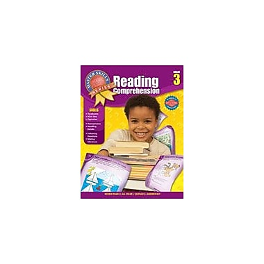 Carson-Dellosa Publishing Master Skills Reading Comprehension, Grade 3 Workbook [eBook]