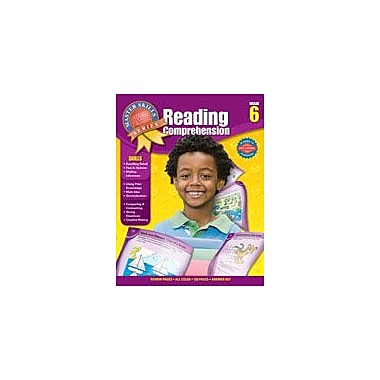 Carson-Dellosa Publishing Master Skills Reading Comprehension, Grade 6 Workbook [eBook]