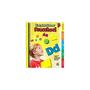 Carson-Dellosa Publishing Everyday Success, Grade PK Workbook, Preschool [eBook]