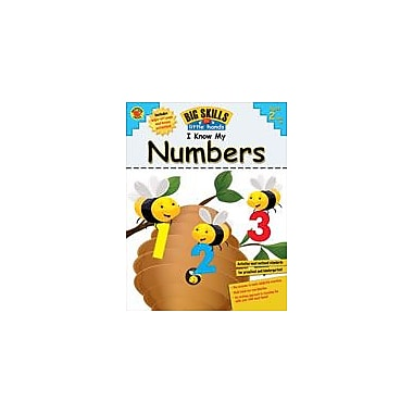 Carson-Dellosa Publishing I Know My Numbers! Workbook By Brighter Child, Preschool - Kindergarten [eBook]