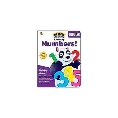 Carson-Dellosa Publishing I Know My Numbers!, Ages 3 And Up Workbook By Brighter Child, Preschool - Kindergarten [eBook]