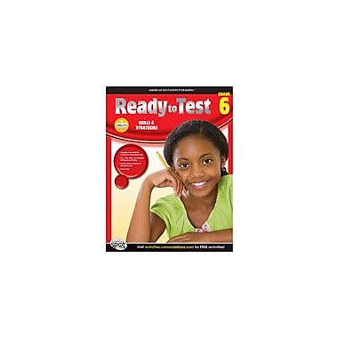 Carson-Dellosa Publishing Ready To Test Language Arts And Math, Grade 6 Workbook [eBook]