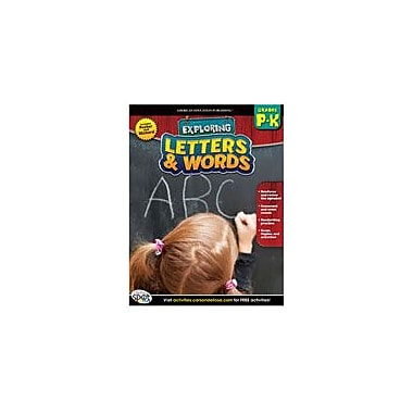 Carson-Dellosa Publishing Letters And Words Workbook, Preschool - Kindergarten [eBook]