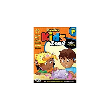 Carson-Dellosa Publishing Creative Kids Zone, Pre-Kindergarten Workbook By Brighter Child, Preschool [eBook]