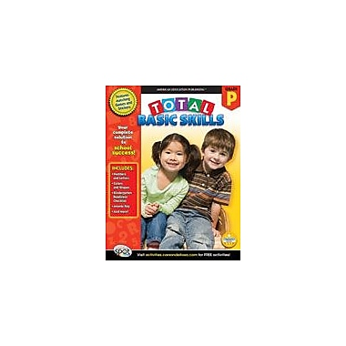 Carson-Dellosa Publishing Total Basic Skills, Grade PK Workbook, Preschool [eBook]