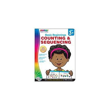 Carson-Dellosa Publishing Spectrum Early Years Basic Beginnings: Counting And Sequencing Workbook [eBook]