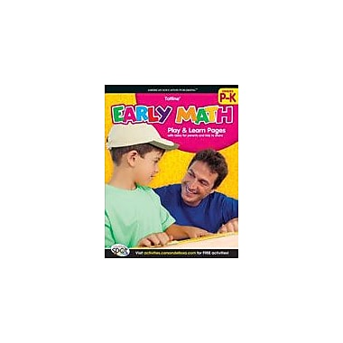Carson-Dellosa Publishing Early Math Workbook, Preschool - Kindergarten [eBook]