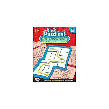 Carson-Dellosa Publishing Mazes And Dot-To-Dots, Grades K-1 Workbook By Brighter Child, Kindergarten - Grade 1 [eBook]