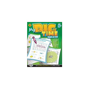 Carson-Dellosa Publishing My Big Time Book Of Fun, Grades K-2 Workbook By Brighter Child, Kindergarten - Grade 2 [eBook]
