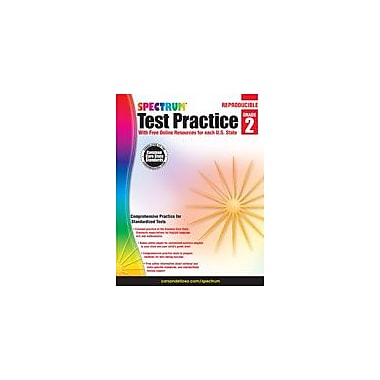 Carson-Dellosa Publishing Spectrum Test Practice, Grade 2 Workbook [eBook]