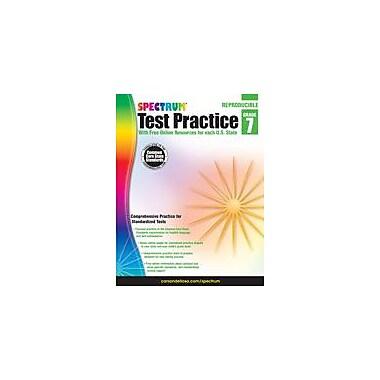 Carson-Dellosa Publishing Spectrum Test Practice, Grade 7 Workbook [eBook]