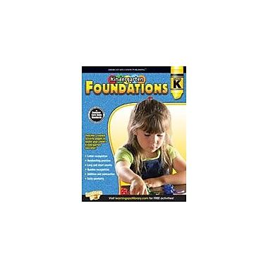 Carson-Dellosa Publishing Kindergarten Foundations Workbook, Kindergarten [eBook]