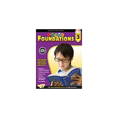 Carson-Dellosa Publishing Third Grade Foundations Workbook, Grade 3 [eBook]