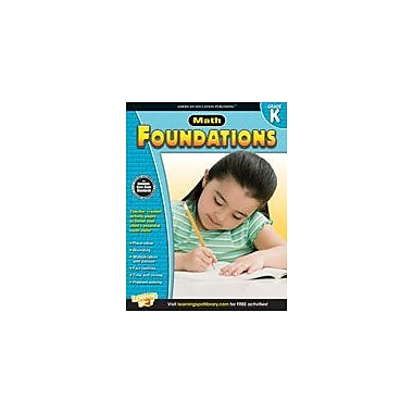 Carson-Dellosa Publishing Math Foundations: Kindergarten Workbook, Kindergarten [eBook]