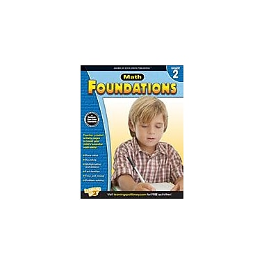 Carson-Dellosa Publishing Math Foundations: Grade 2 Workbook [eBook]