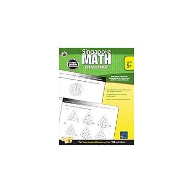 Carson-Dellosa Publishing Singapore Math Challenge: Grades 5-8 Workbook, Grade 5 - Grade 8 [eBook]