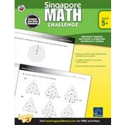 Carson-Dellosa Publishing Singapore Math Challenge: Grades 5-8 Workbook, Grade 5 - Grade 8 [eBook]