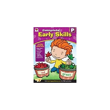 Carson-Dellosa Publishing Complete Early Skills: Canadian Edition, Pre-Kindergarten Workbook, Preschool [eBook]