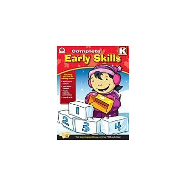 Carson-Dellosa Publishing Complete Early Skills: Canadian Edition, Kindergarten Workbook, Kindergarten [eBook]