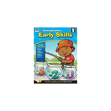 Carson-Dellosa Publishing Complete Early Skills: Canadian Edition, Grade 1 Workbook [eBook]