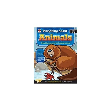 Carson-Dellosa Publishing Everything About Animals: Canadian Edition Workbook, Grade 1 - Grade 3 [eBook]