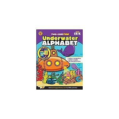 Carson-Dellosa Publishing Underwater Alphabet And Sea Shapes Workbook, Preschool - Kindergarten [eBook]