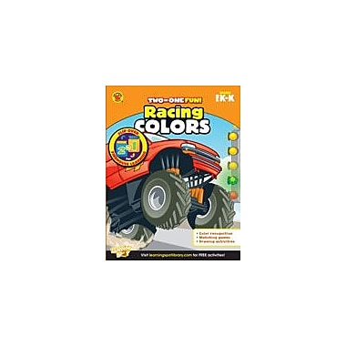 Carson-Dellosa Publishing Racing Colors And Firehouse Learning Workbook, Preschool - Kindergarten [eBook]