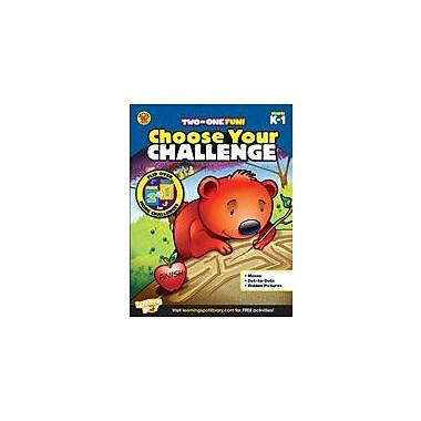 Carson-Dellosa Publishing Choose Your Challenge Kindergarten - Grade 1 Workbook, Kindergarten - Grade 1 [eBook]