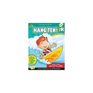 Carson-Dellosa Publishing Hang Ten! Workbook By Brighter Child, Preschool [eBook]
