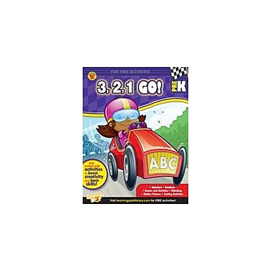 Carson-Dellosa Publishing 3, 2, 1, Go! Workbook By Brighter Child, Preschool [eBook]