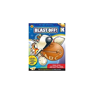 Carson-Dellosa Publishing Blast Off! Workbook By Brighter Child, Kindergarten [eBook]