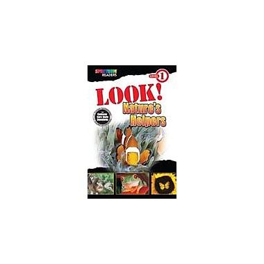 Carson-Dellosa Publishing Spectrum Readers Level 1: Look! Nature's Helpers Workbook, Preschool - Grade 1 [eBook]