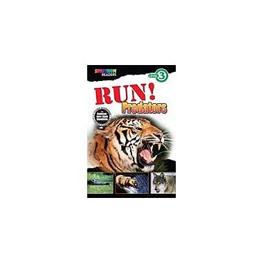 Carson-Dellosa Publishing Spectrum Readers Level 3: Run! Predators Workbook, Grade 1 - Grade 2 [eBook]