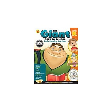 Carson-Dellosa Publishing The Giant Goes To School: Early Reading Activities Workbook By Means, Clarissa, Kindergarten [eBook]