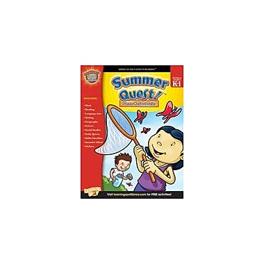 Carson-Dellosa Publishing Summer Quest: Kindergarten - Grade 1 Workbook, Kindergarten - Grade 1 [eBook]