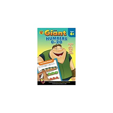 Carson-Dellosa Publishing The Giant: Numbers 0-20 Workbook, Preschool - Kindergarten [eBook]