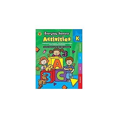 Carson-Dellosa Publishing Everyday Success Activities Kindergarten Workbook By Brighter Child, Kindergarten [eBook]